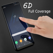 6D Curved Full Cover Tempered Glass For Samsung Galaxy Note 9 S9 Plus S8 Plus Note 8 S7 Edge Screen Protector Protective Film все цены