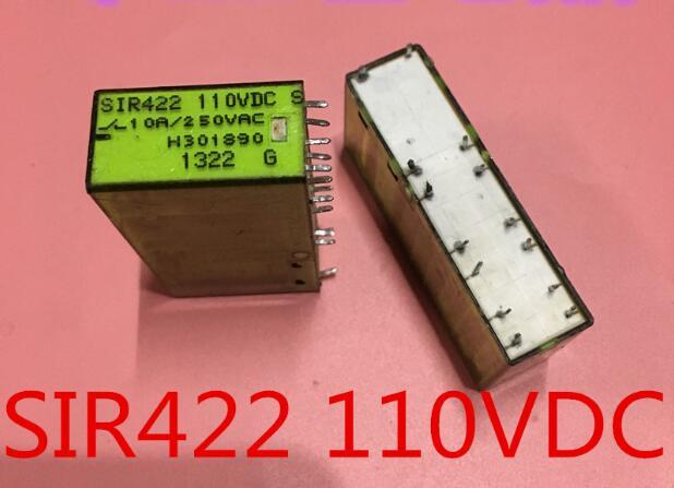 Safety 110V relay SIR422-110VDC SIR422 110VDC 110V 110VDC DC110V DIP14 сумка solo solo mp002xw1gn5b