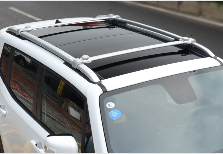 4p Silver Aluminium For Jeep Renegade 2015 2016 2017 Roof