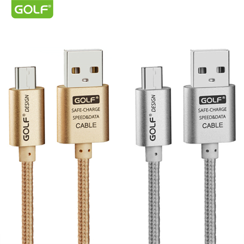<font><b>GOLF</b></font> Fast Charging <font><b>USB</b></font> Data Sync Charger Cable For Redmi S2 <font><b>5</b></font> Plus 5A 6 Pro 6A Note 4 4X <font><b>5</b></font> 5A Samsung S6 S7 LG V10 Android Cable image