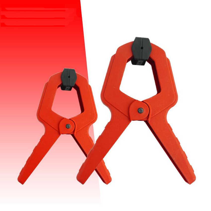 """2 """"3"""" 4 """"6"""" 7 pulgadas nuevo Material plástico clip de resorte Horizontal gran Rango de sujeción fuerza de sujeción fuerte"""