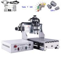 Ball Screw Mini CNC 3020 300W 3D CNC Router Engraver Milling Machine