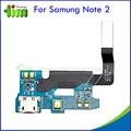 30 pcs original para samsung galaxy note 2 n7100 carregador usb conector dock de carregamento porto flex cabo peças