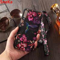 Für Samsung Galaxy A7 2018 Fall Abdeckung Silikon 3D geprägte flamingo Weichen TPU Rückseitige Abdeckung Für Samsung A7 2018 A750 coque Fällen