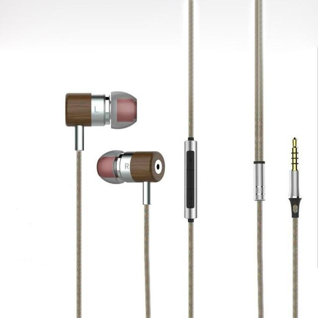 Dinámico + Balanced Armature Conductor Doble Híbrido Hifi auriculares de Cancelación de Ruido En la Oreja los Auriculares De Madera Magaosi Bass Auricular