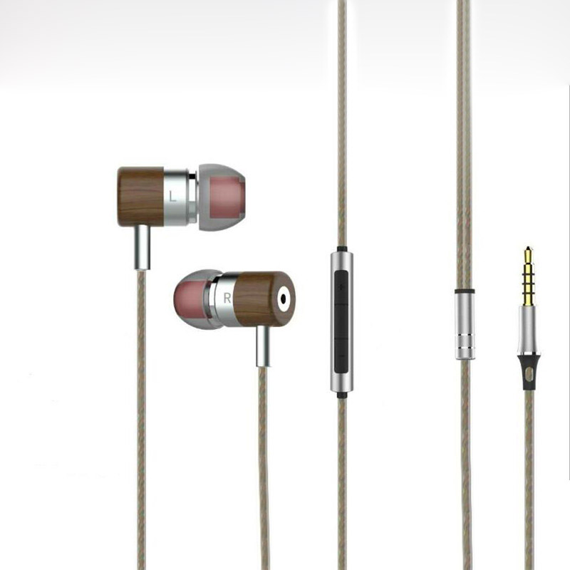 Dynamic+Balanced Armature Dual Driver In Ear Wood Earphones Hifi Hybrid Noise Cancelling Ear buds Magaosi Bass Headset new single balance armature earphones in ear earphones x10 s shell er4p s driver