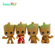 4pec een set De PVC Model Speelgoed Boom Man Action Figure  Phoneholder Grunt For Guardians Galaxy hot toys super hero dolls