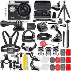 Neewer G1 Ultra HD 4 K Action Camera zestaw zawiera 12MP  98 ft podwodne wodoodporna kamera 170 stopni szerokokątny WiFi sport Cam w Akcesoria do studia fotograficznego od Elektronika użytkowa na