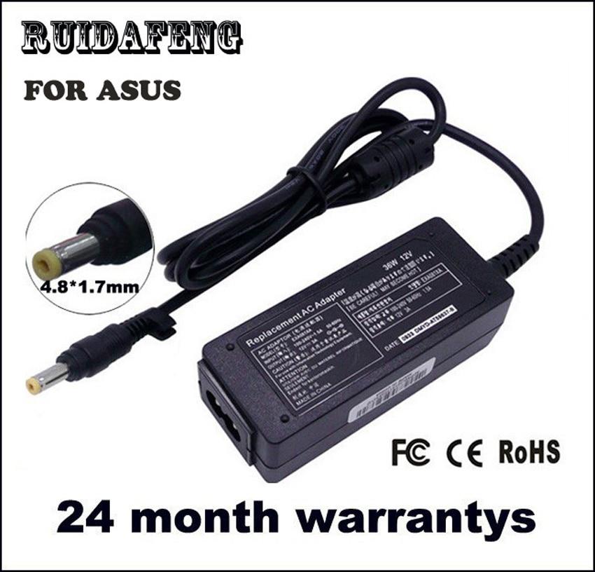 12V 3A AC adapter Laptop töltő az ASUS Eee PC 701 900 901 902 904 - Laptop kiegészítők - Fénykép 1