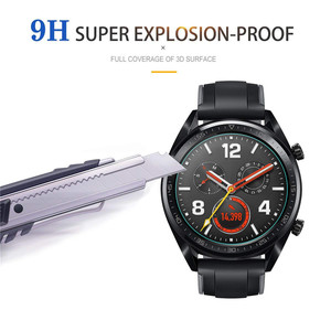 Image 5 - 2pcs For Huawei Watch GT GT2(46mm) /GT Tempered Glass Screen Protector Protective Film Guard Anti Explosion Anti shatter