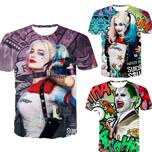 Suicide squad / Harley Quinn Mens 3D T Shirt