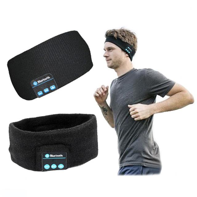 Dispositivos inteligentes wearable estéreo magia cabeça música esporte bluetooth fone de ouvido sem fio com chamada resposta para iphone smartphone p20