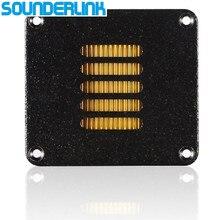 2 sztuk/partia Diy monitor audio sterownik HiFi aluminium Air motion głośnik wysokotonowy przetwornik AMT wstążka głośnik wysokotonowy