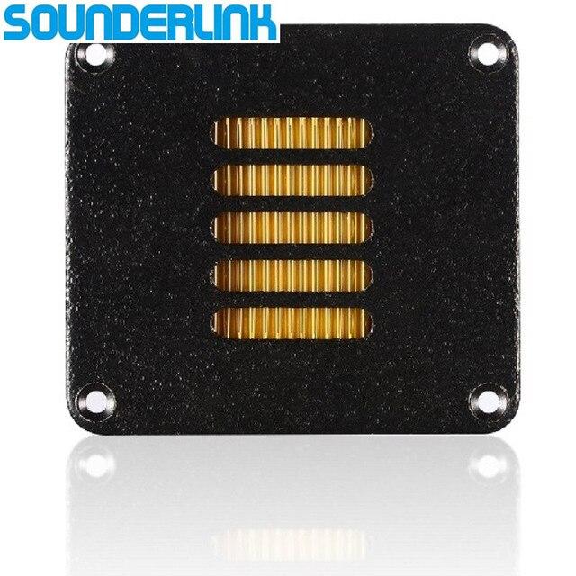 2pcs/lot Diy monitor audio driver HiFi aluminum Air motion tweeter transducer transformer AMT ribbon tweeter speaker