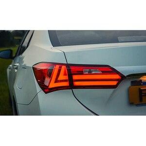 Image 4 - LSlight For Corolla 2014 2015 2016 2017 2018 2019 LED Tail Light Assembly lights Bulb Lamp Running Lights Stop Brake Turn Signal