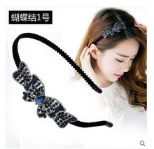 jewelry SET   2pc Factory wholesale Classical Korean hair before issuing  hoop capitatum clamp hair clip  Headband Tiara