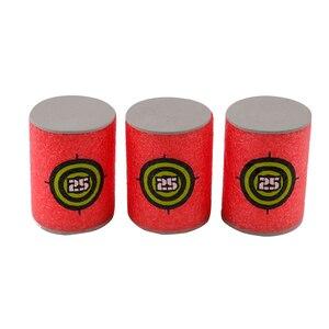 Image 4 - 6PCS Foam Drink Bottle Bullet Training Supplies Toy Targets Shot Dart Nerf Set for N strike Fixed Elite Games Soft  Annex Toys
