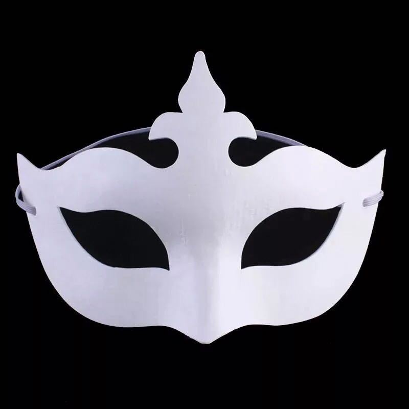 aliexpress com buy diy hand painted halloween white face mask