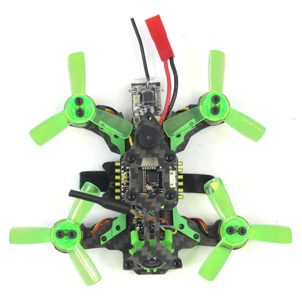 Mantis 85 Micro FPV Racing RTF Drone with Frsky / Flysky Receiver F4 Flight Controller with FPV Watch TFT Monitor BNF RC toys