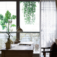 203*63cm 203*130cm Decorative Window Film Frosted Self Adhesive Film Stained Privacy Static For Glass Stickers For Kitchen