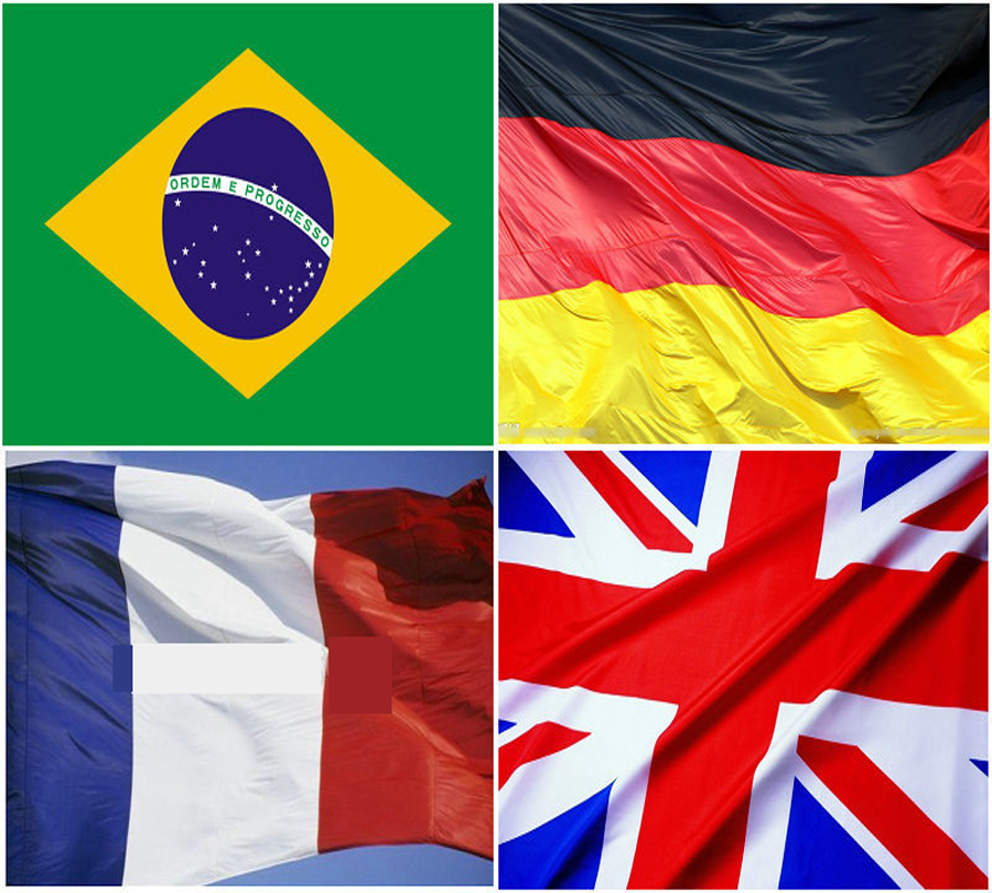 1d7a85c3b 11.11 footbacl flag 5 3ft France german united kingdom jack brazil UK Great Britain  Flag 150x90cm Brasil flags Country Banner
