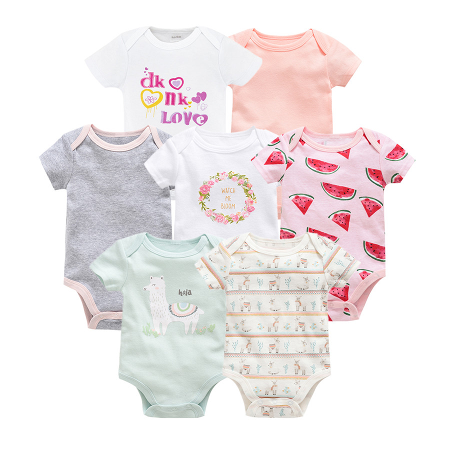 1e1dcfdb1dd7 Kavkas 2019 Newborn Baby Rompers Boys Girls Infant Romper Jumpsuit Clothes  Outfits Toddler O Neck Pullover