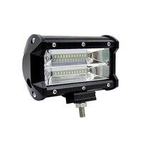 5inch 72W Car LED Light Bar Spot Beam Work Light Driving Fog Light Road Lighting For
