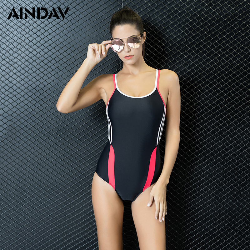 autumn shoes discount collection classic US $14.78 23% OFF|Maillot Athletic One Piece Swimsuit Conservative swimwear  women Leotard Bathing Suit Maillot De Bain Fe One Piece Swimwear-in Body ...