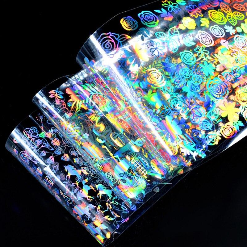 03 Nail Art Star Laser Sticker