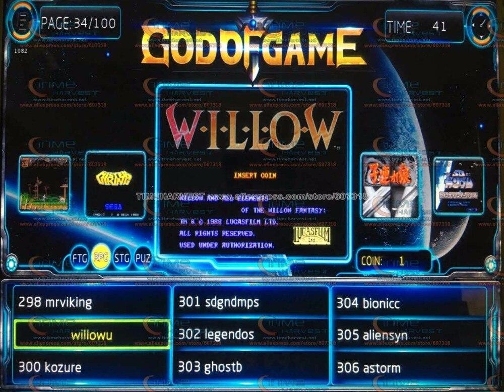 Новое поступление JAMMA аркадная игра доска GOD OF GAMES 900 в 1 аркадный аппарат, печатная плата мульти боевые игры мультигейминг поддержка VGA выход