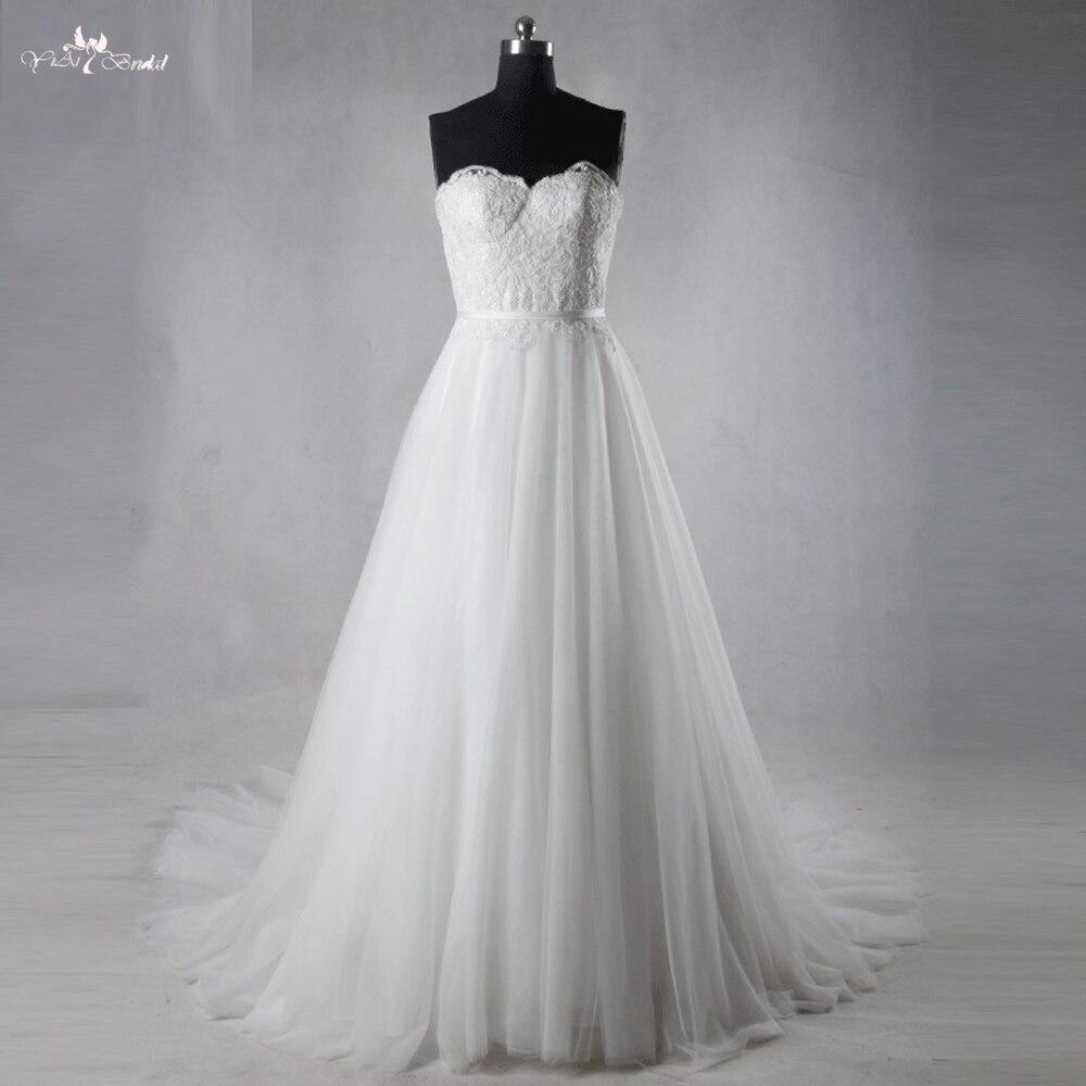 Φ_ΦTw0212 vintage con Encaje Appliques Vestido de Noiva simples ...
