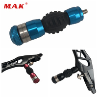 3 Color Bow Shock Absorber Stabilizer Self contained Weight Balance Weight for Compound Bow Recurve Bow Hunting Shooting