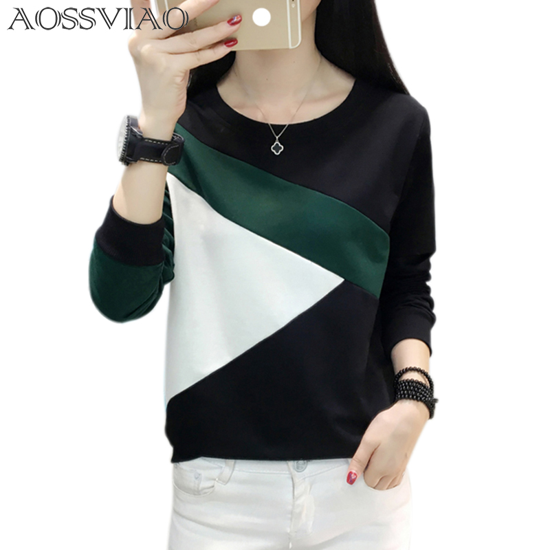 b80cbec3b2ab US $9.97 41% OFF|t shirt women tshirt autumn winter camisa feminina t  shirts women tops casual poleras de mujer moda 2019 tee shirt femme-in  T-Shirts ...