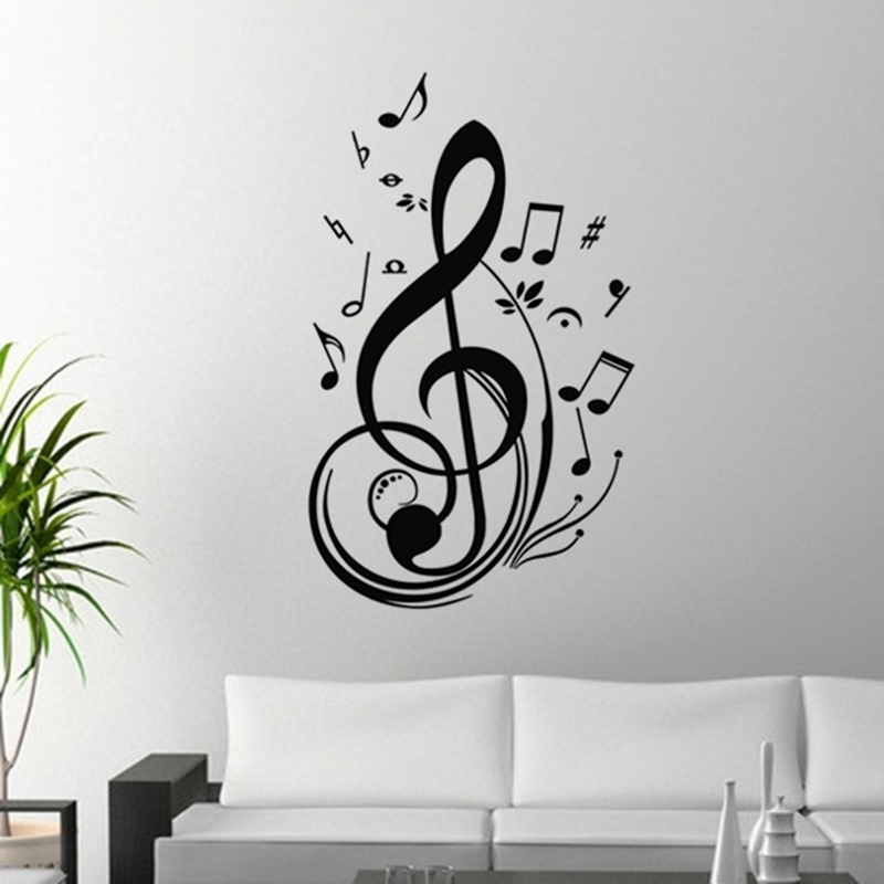 online get cheap musical wall decorations aliexpress com pics photos musical notes wall decals