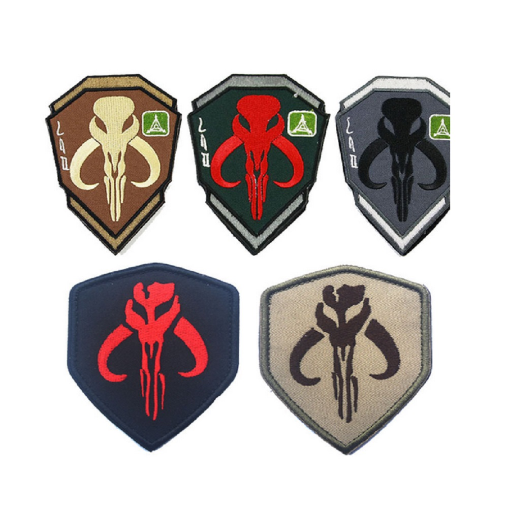 Bounty hunter patch 3d embroidery armband mandalos skull star bounty hunter patch 3d embroidery armband mandalos skull star wars bounty hunter boba fetmadik armband patches in patches from home garden on buycottarizona Image collections