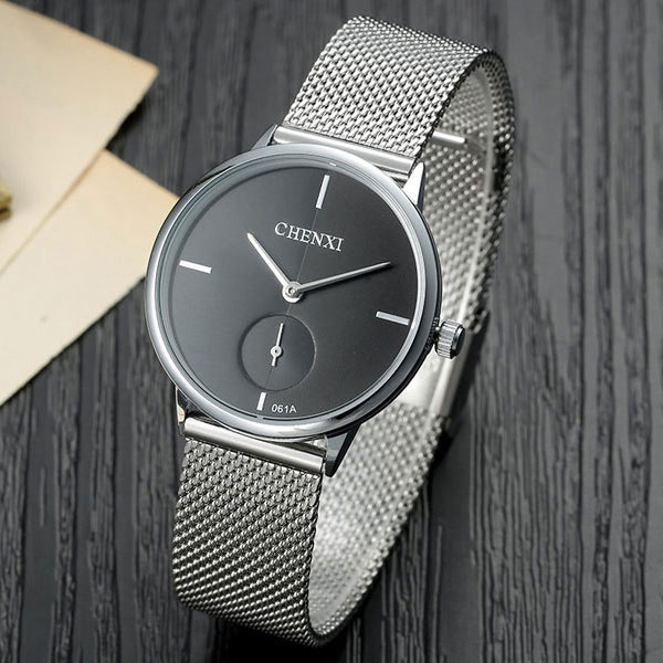 Stainless Steel Quartz Watch Women Watches Ladies Brand Luxury Famous Wrist Watch For Female Clock Relogio Feminino Montre Femme feitong luxury women watch simple style stainless steel mesh band analog quartz wrist watches relogio feminino 2017 montre femme