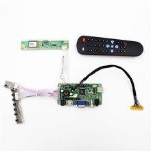 AVX9-CZ para 15.4 polegadas 1400×900 LP154WP1 Universal HDMI VGA AV USB Audio Placa Controladora LCD Kit Monitor de Fácil DIY