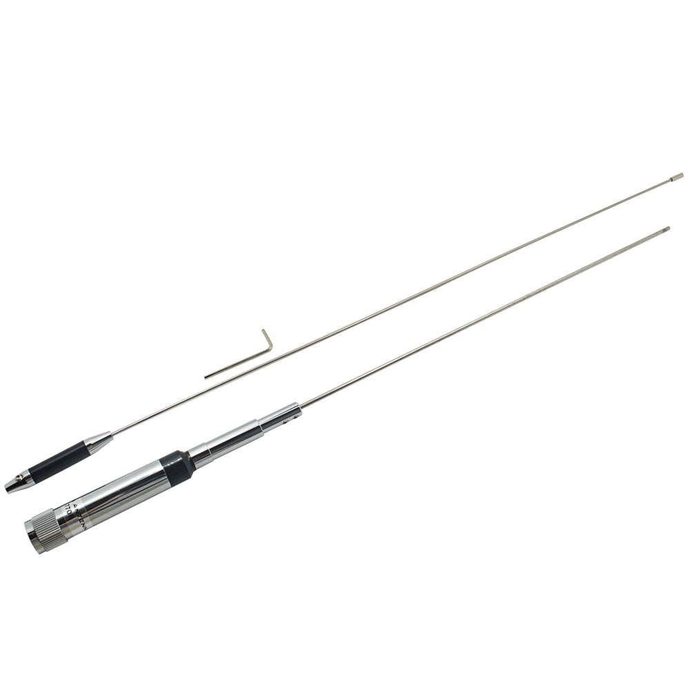 Image 3 - Car radio antenna NL 770R High Gain 95.6cm Silver NL 770R Car Radio Antenna with UHF M Connector VHF/UHF 144/430Mhz-in Walkie Talkie from Cellphones & Telecommunications