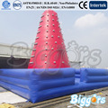 Inflatable Biggors Inflatable Climbing Wall With High Mattress For Children