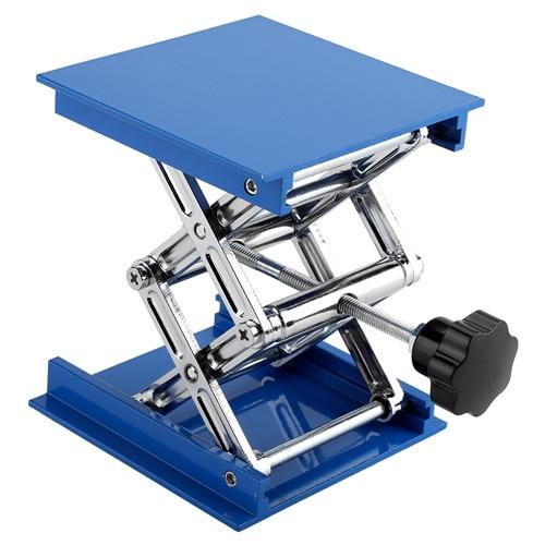 Профессиональный лабораторный домкрат, подъемная платформа, подставка для ножниц, 150*150*250 мм, 100 мм* 100 мм* 160 мм, Подъемные Инструменты - Цвет: 100x100x160 Blue