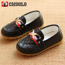 CMSOLO Children Shoes Boys Baby Oxford Soft Sole PU Leather Girls Sneakers Kid Flat Mocassins Toddler Little Boys Slip-on Casual