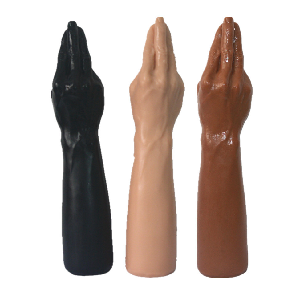 Top quality <font><b>Sex</b></font> <font><b>Doll</b></font> 1:1 real 7x36cm Magic Hand and <font><b>Dildos</b></font> Forearm For Vaginal and Anal Fisting Free hand Super sucker <font><b>sex</b></font> <font><b>toy</b></font> image