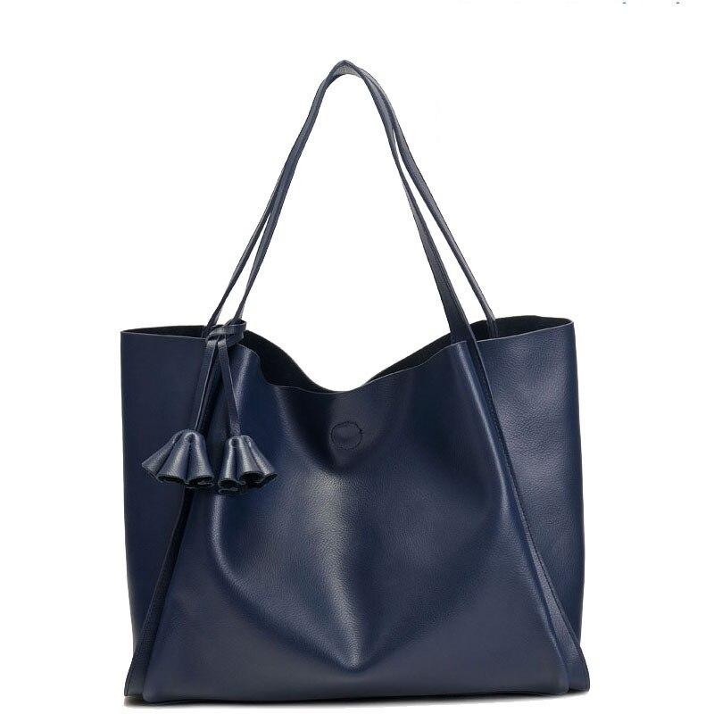 Large Handbags Women Genuine Leather Cowhide Soft Solid Hasp Shoulder Tote Bag Bags Bolsas Feminina Pequenas Handbag Designer forward sporting 2 0 disc 2017