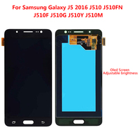 Super AMOLED LCD For SAMSUNG Galaxy J5 2016 LCD Display J510 J510F J510FN J510M Touch Screen