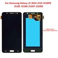 Super AMOLED LCD For SAMSUNG Galaxy J5 2016 LCD Display J510 J510F J510FN J510M Touch Screen