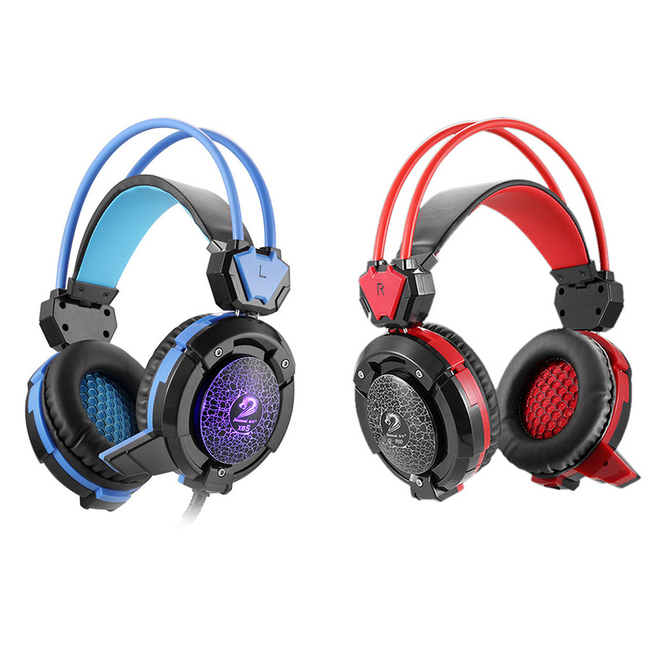 Hot Stereo Surround Gaming Headset 3.5mm Wired Headphone with PC Gamer Mic for Mobile Phones PS4 Laptop Computer Video Games