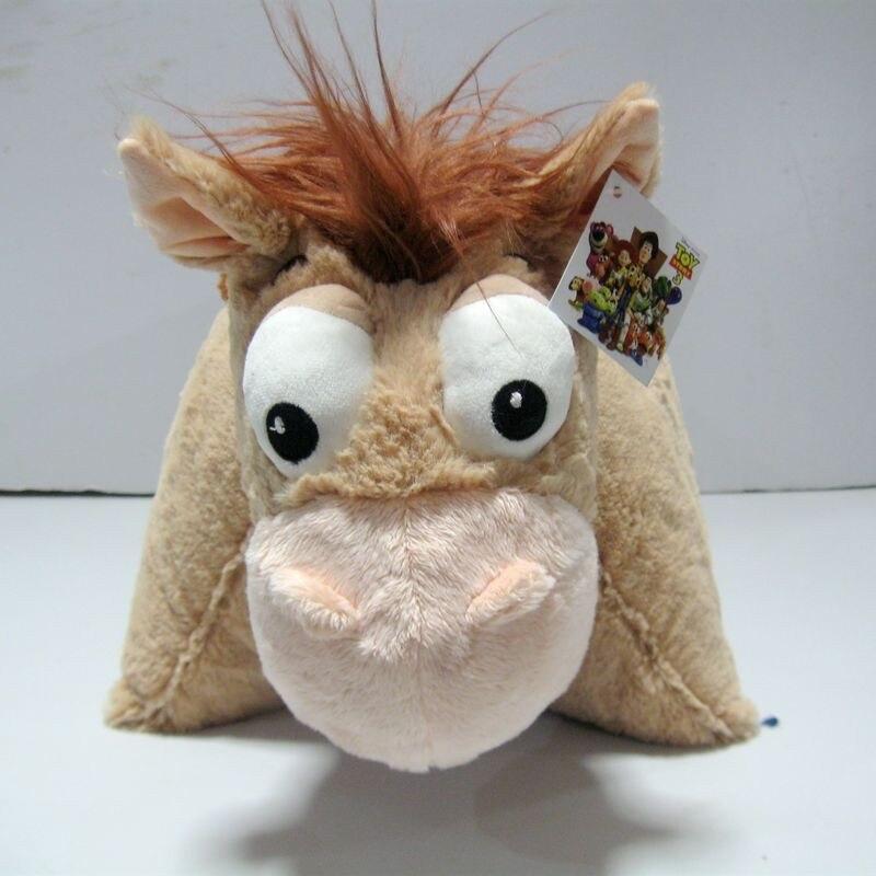 Original Toy Story Bullseye Horse Cute Soft Stuff Pillow Cushion Plush Toy Birthday Christmas Gift цены онлайн