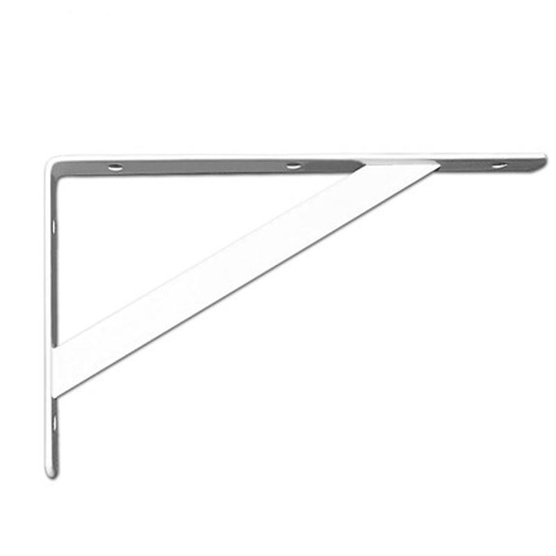 montaje en pared Soportes para estante de alta resistencia soportes para estantes soportes para estanter/ías en /ángulo recto triangulares negro