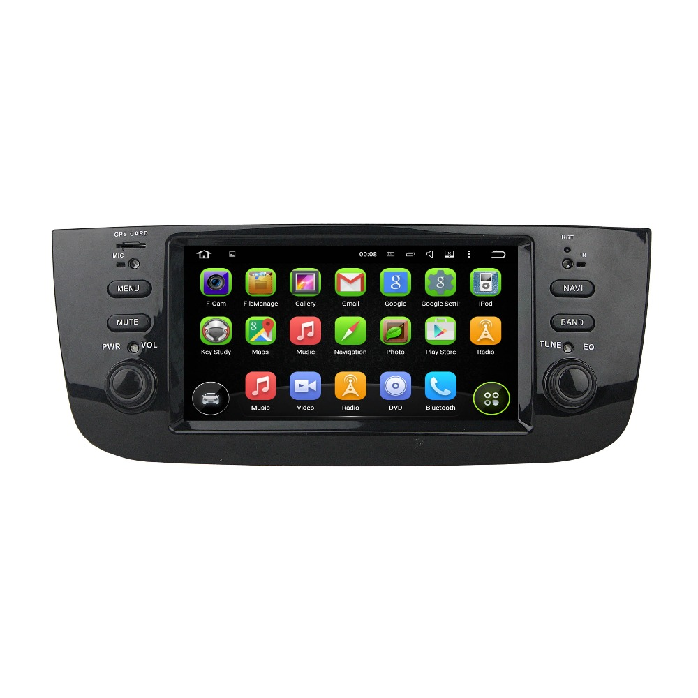 "KLYDE 6.1"" 1Din Android 8.0 Car Radio 8 Core For FIAT Fiat LINEA 2014-2015 Deckless Car Radio Multimedia Player Car Audio Stereo"