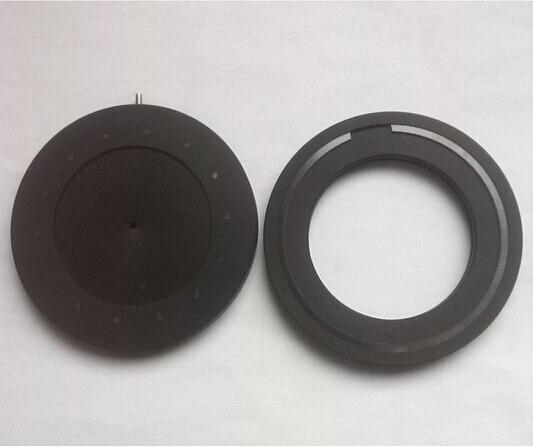Zoom 1.5-36mm Iris diaphragm Aperture OD56MM Iris Aperture Monitor Parts camera parts Condenser microscope 14 blades Adjustable  цены